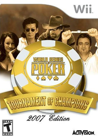 Caratula de World Series of Poker: Tournament of Champions para Wii