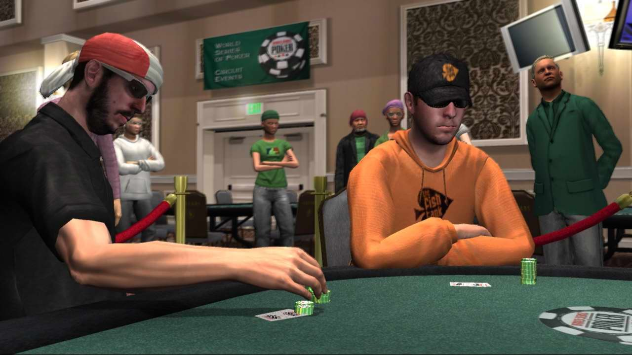 Pantallazo de World Series of Poker: Tournament of Champions para Xbox 360