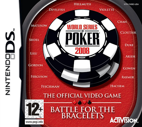 Caratula de World Series of Poker : Battle for the Bracelets para Nintendo DS