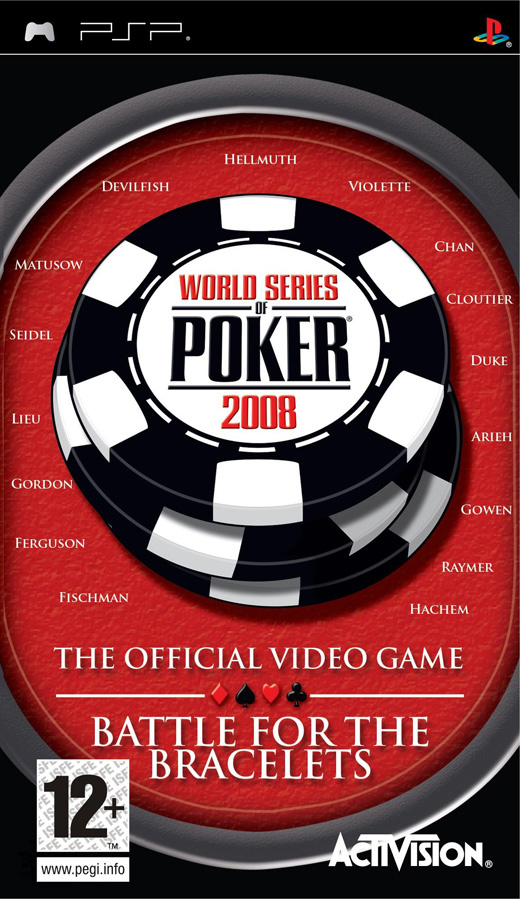 Caratula de World Series of Poker : Battle for the Bracelets para PSP