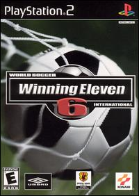 Caratula de World Soccer Winning Eleven 6 International para PlayStation 2