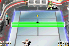 Pantallazo de World Tennis Stars para Game Boy Advance