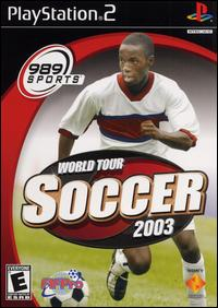 Caratula de World Tour Soccer 2003 para PlayStation 2