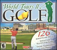 Caratula de World Tours II Golf para PC