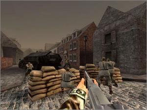 Pantallazo de World War II Combat: Road to Berlin para Xbox