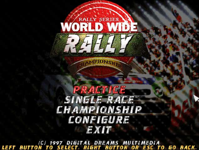 Pantallazo de World Wide Rally para PC