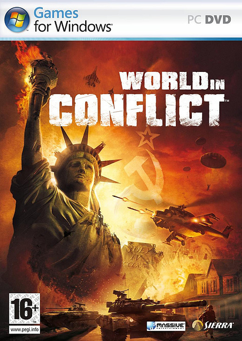 Caratula de World in Conflict para PC