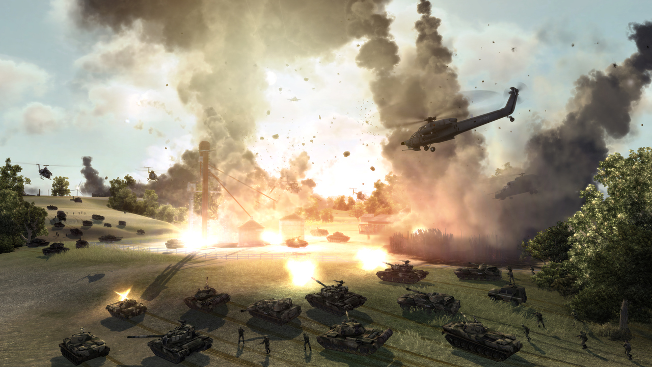 Pantallazo de World in Conflict para Xbox 360