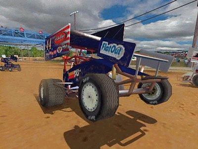 Pantallazo de World of Outlaws: Sprint Cars 2002 para PC