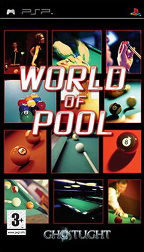 Caratula de World of Pool para PSP