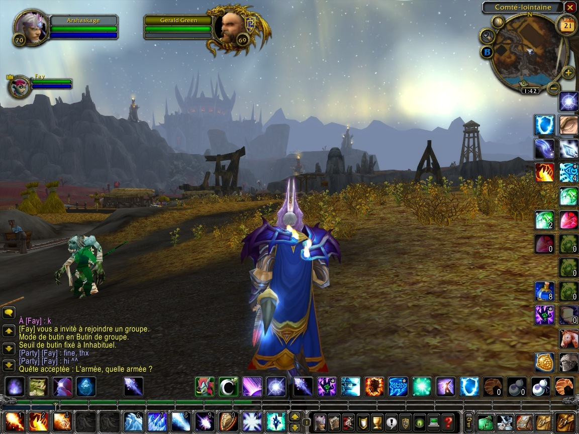Pantallazo de World of Warcraft: Wrath of the Lich King para PC