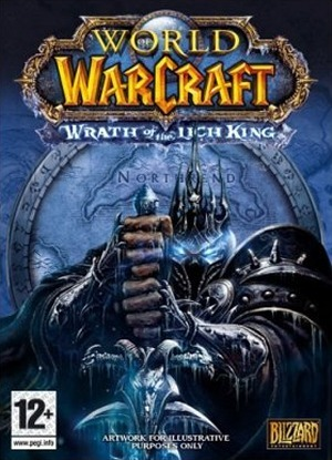 Caratula de World of Warcraft: Wrath of the Lich King para PC
