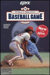 Caratula de World's Greatest Baseball Game, The para PC