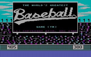 Pantallazo de World's Greatest Baseball Game, The para PC