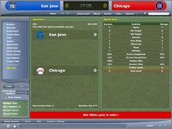 Pantallazo de Worldwide Soccer Manager 2005 para PC