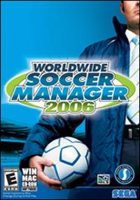 Caratula de Worldwide Soccer Manager 2006 para PC