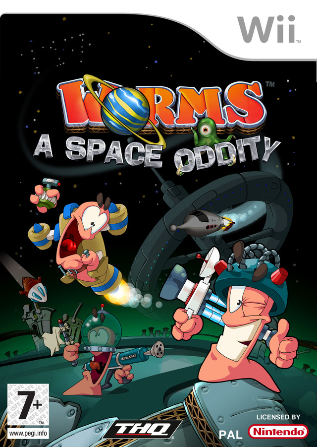 Caratula de Worms: A Space Oddity para Wii