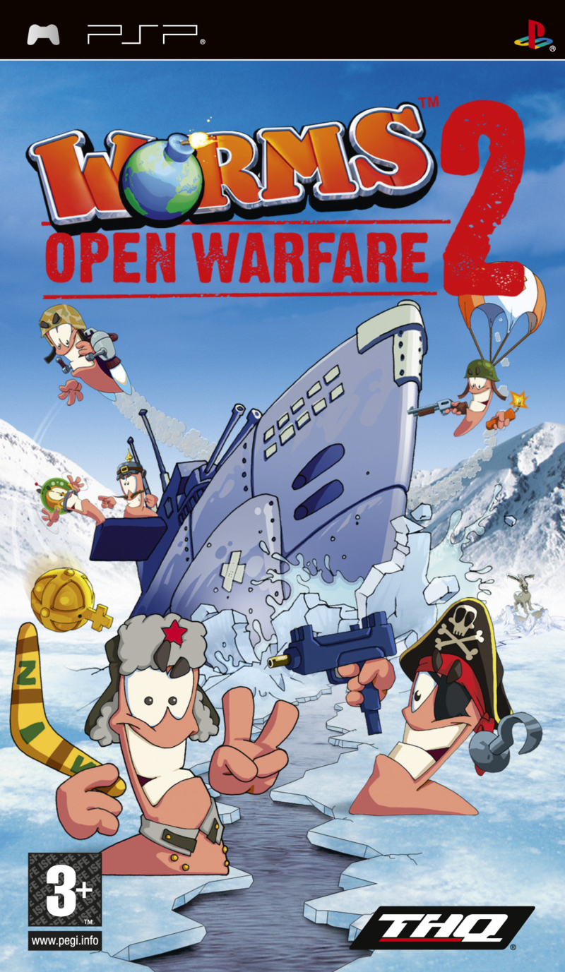 Worms open Warfare 2 [Español] [PSP] [CSO] Foto+Worms+:+Open+Warfare+2