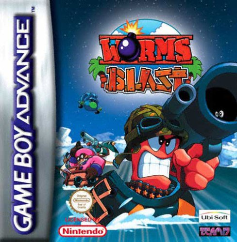 Caratula de Worms Blast para Game Boy Advance