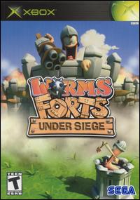 Caratula de Worms Forts: Under Siege! para Xbox