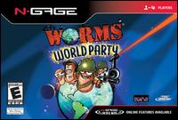 Caratula de Worms World Party para N-Gage
