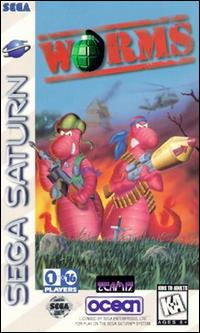 Caratula de Worms para Sega Saturn