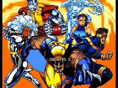 Pantallazo de X-Men: Children of the Atom para PC