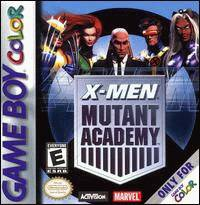 Caratula de X-Men: Mutant Academy para Game Boy Color