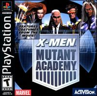 Caratula de X-Men: Mutant Academy para PlayStation