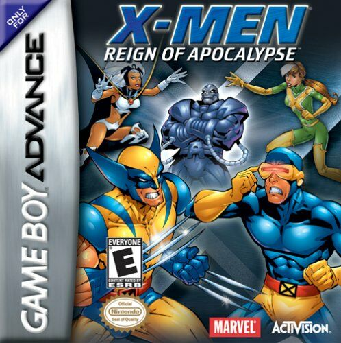 Caratula de X-Men: Reign of Apocalypse para Game Boy Advance