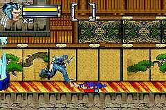 Pantallazo de X-Men: Wolverine's Revenge para Game Boy Advance