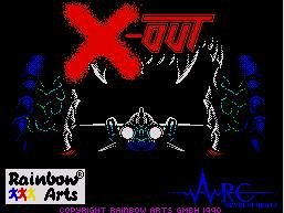 Pantallazo de X-Out para Spectrum