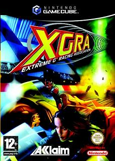 Caratula de XGRA Extreme G Racing Association para GameCube