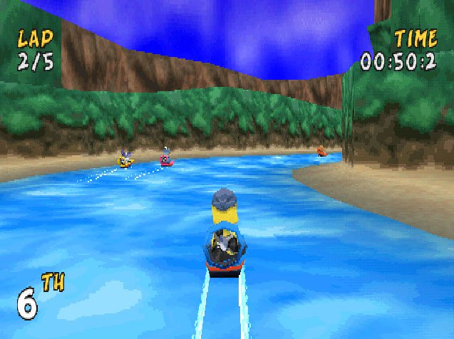 Pantallazo de XS Airboat Racing para PlayStation