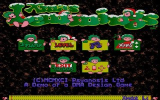 Pantallazo de Xmas Lemmings 91 para PC