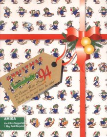 Caratula de Xmas Lemmings 92 para PC