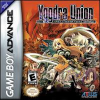 Caratula de Yggdra Union: We'll Never Fight Alone para Game Boy Advance