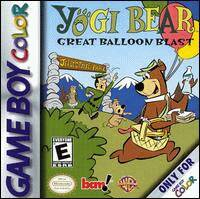 Caratula de Yogi Bear: Great Balloon Blast para Game Boy Color