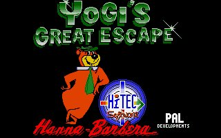 Pantallazo de Yogi's Great Escape para Atari ST