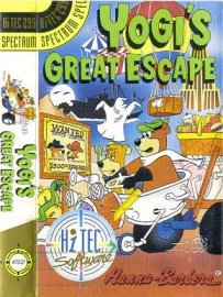 Caratula de Yogi's Great Escape para Spectrum
