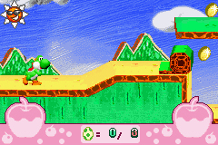 Pantallazo de Yoshi's Universal Gravitation para Game Boy Advance