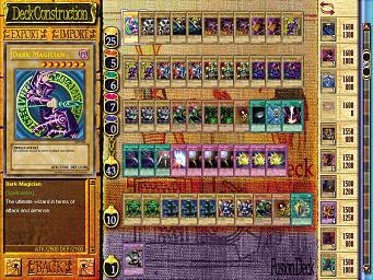 Pantallazo de Yu-Gi-Oh!: Power of Chaos - Yugi the Destiny para PC