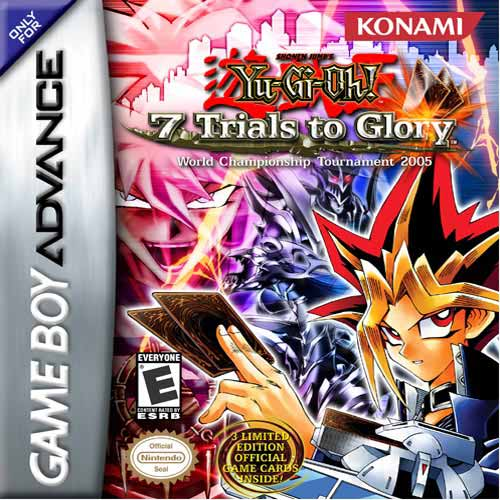 Caratula de Yu-Gi-Oh! 7 Trials of Glory: World Championship Tournament 2005 para Game Boy Advance