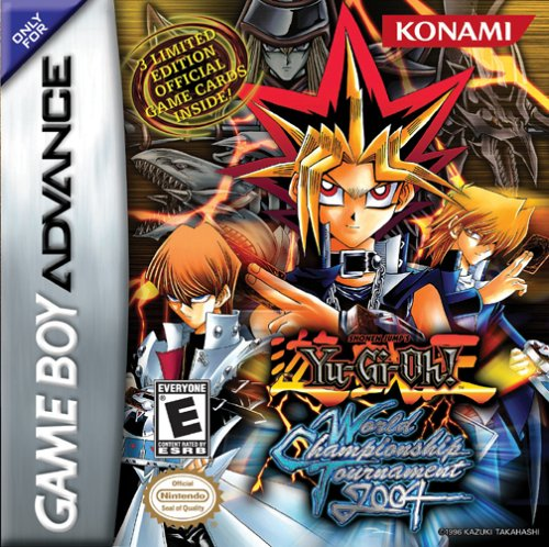 Caratula de Yu-Gi-Oh! World Championship Tournament 2004 para Game Boy Advance