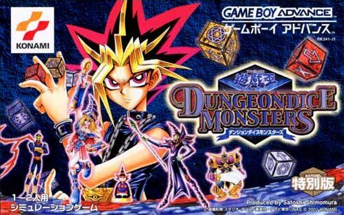 Caratula de Yugioh DungeonDice Monsters para Game Boy Advance