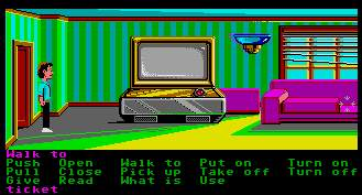 Pantallazo de Zak McKracken and the Alien Mindbenders para Atari ST