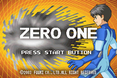 Pantallazo de Zero One (Japonés) para Game Boy Advance
