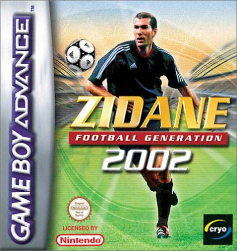 Caratula de Zidane Football Generation para Game Boy Advance