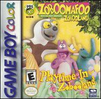 Caratula de Zoboomafoo: Playtime in Zobooland para Game Boy Color