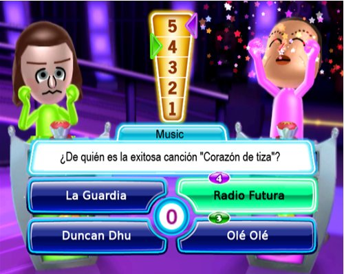 Pantallazo de Zona de Juego: TV Show King Party para Wii